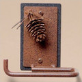 Pinecone Toilet Paper Holder | Colorado Dallas | CDTP01 -2