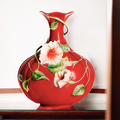 Island Beauty Hibiscus Vase | fz00984 | Franz Porcelain Collection