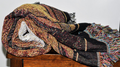 All Burned Out Cat Woven Throw Blanket | Pure Country | pc895T