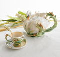 Southern Splendor Swan Teapot | fz01550 | Franz Porcelain Collection
