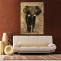 African Voyage I Elephant Wall Hanging | Pure Country | PC1599wh -2