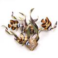 Angelfish Mardi Gras Wall Sculpture   TI Design   CO106A