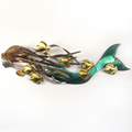 Fish and Mermaid Metal Wall Sculpture | TI Design | TICO130