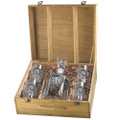 Grizzly Bear Decanter Set   Heritage Pewter   HPICPTB105