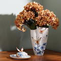 Forever Wedding Butterfly Vase   FZ02056   Franz Porcelain Collection