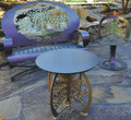 Tree of Life Patio Table | Cricket Forge | T029 -2