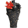 Baroque Red Lily Large Vase | FZ02148 | Franz Porcelain Collection -2