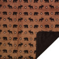 Bear Moose Wilderness Walk Throw Blanket   Denali   DHC16122872 -3