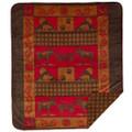 Moose Bear Throw Blanket | Denali | DHC16125972