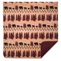 Bear Wheat Throw Blanket | Denali | DHC16127172