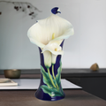 Calla Lily Flower Large Vase | FZ02359 | Franz Porcelain Collection
