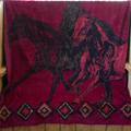 Wild Horses Throw Blanket   Denali   DHC16164072 -2