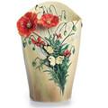 Van Gogh Poppy Flower Porcelain Vase | FZ02406 | Franz Porcelain Collection -2
