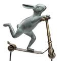 Bunny Scooter Garden Sculpture | 34214 | SPI Home -2
