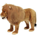 Lion Plush Foot Stool | Hansa Toys | HTU6079 -2