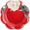 Venice Peony Porcelain Cake Plate | FZ02734 | Franz Porcelain Collection -2