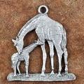 Giraffe Pewter Ornament | Andy Schumann | SCHMC122102