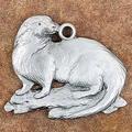 Otter Pewter Ornament | Andy Schumann | SCHMC122109