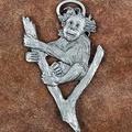 Baby Orangutan Pewter Ornament   Andy Schumann   SCHMC122116