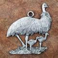 Emu Pewter Ornament   Andy Schumann   SCHMC122119