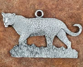 Leopard Pewter Ornament | Andy Schumann | SCHMC122123
