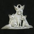 Fennec Fox Pewter Ornament | Andy Schumann | SCHMC122139