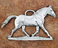 Horse Pewter Ornament | Andy Schumann | SCHMC122144