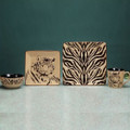 Tiger Dinnerware 4 Piece Place Setting