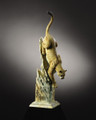 "Cougar Sculpture ""Leap of Faith"" 