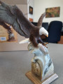 "Eagle Sculpture ""Splash Down"" | Mill Creek Studios | 6567385532 -2"