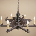 Bear & Moose Chandelier | Colorado Dallas | CDC1110