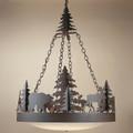 Bear & Moose Frontiersman Chandelier | Colorado Dallas | CDC301012