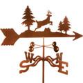 Deer Jumping Weathervane | EZ Vane | ezvdeerjumping