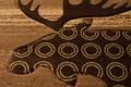 Moose Lodge Area Rug Toffee | United Weavers | 511-27359-5x7