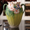 Butterfly Cosmos of Color Vase | FZ03127 | Franz Porcelain Collection
