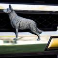 German Shepherd Grille Ornament |Grillie | GRIgshepap -2