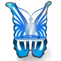 Butterfly Outdoor Rocking Chair | Cricket Forge | C011