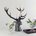 Elk Head Candlestick-6 Light | Vagabond House | A191EH