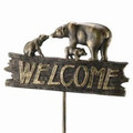 Bear Family Welcome Sign | 33390 | SPI Home -2