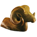 Ram Bust Stone Sculpture | Douglas Creek | 3200 -2