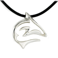 "Shark Pendant Necklace ""Frenzy"" | Big Blue Jewelry | Roland St. John | BC12-18"
