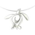 "Sea Turtle Pendant Necklace ""Ocean Traveler""   Big Blue Jewelry   BC11-18"