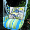 "Butterfly Hammock Chair Swing ""Beach Boulevard"" | Magnolia Casual | LHWBF-SP"