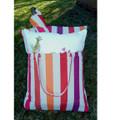 "Crab Striped Hammock Chair Swing Red ""Cristina Stripe"" | Magnolia Casual | CRFCCR-SP -3"