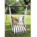 """Bee Hammock Chair Swing """"Striped Chocolate"""" 