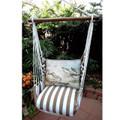 "Sea Bird Hammock Chair Swing ""Striped Chocolate"" | Magnolia Casual | SCWSB-SP"