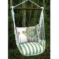"Sea Turtle Hammock Chair Swing ""Summer Palm"" | Magnolia Casual | SPRR502-SP"