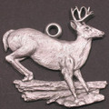 Whitetail Deer Pewter Ornament | Andy Schumann | SCHMC122164