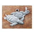 Sea Turtle Pewter Ornament | Andy Schumann | MC122157