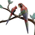 Macaw Tropical Bird Console Table | 80309 | SPI Home -2